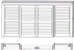 bypass shutter system