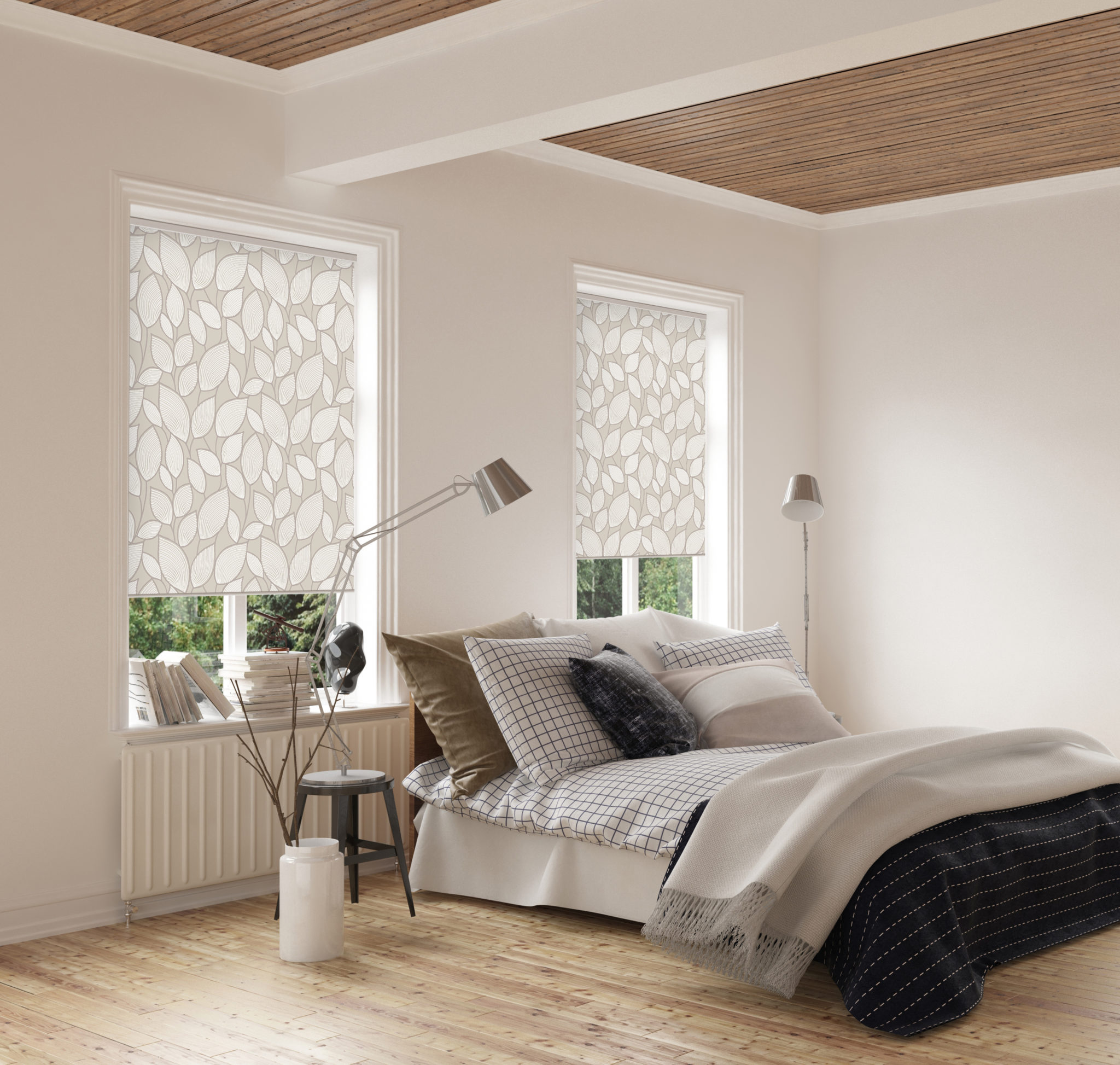 JM roller blind by luminos