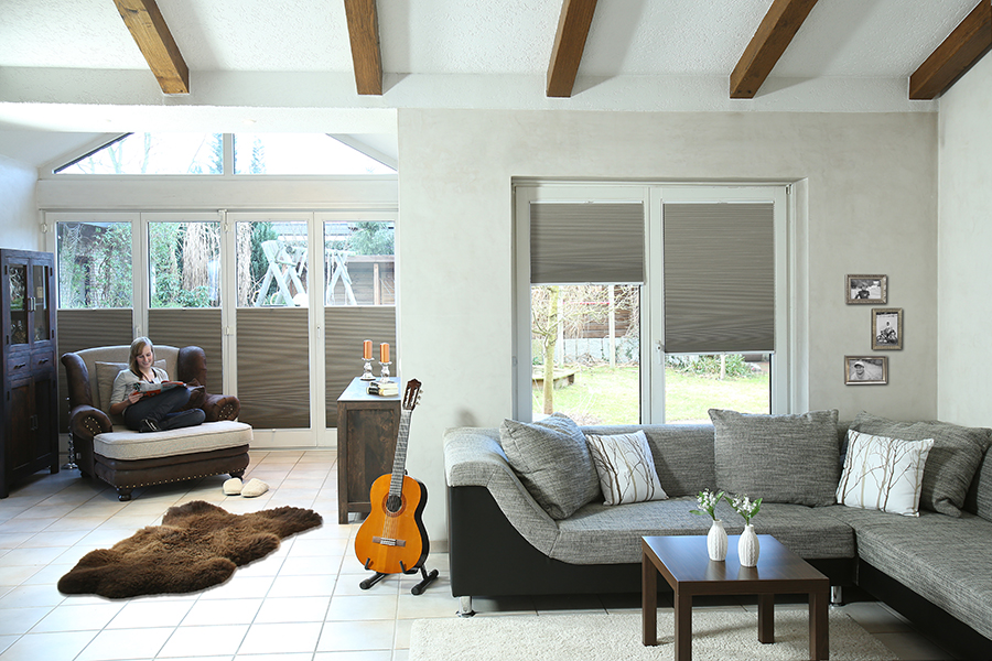 Lumicel honeycomb blinds