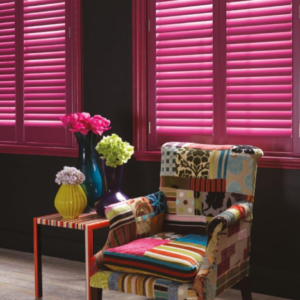 custom colour venetian blinds