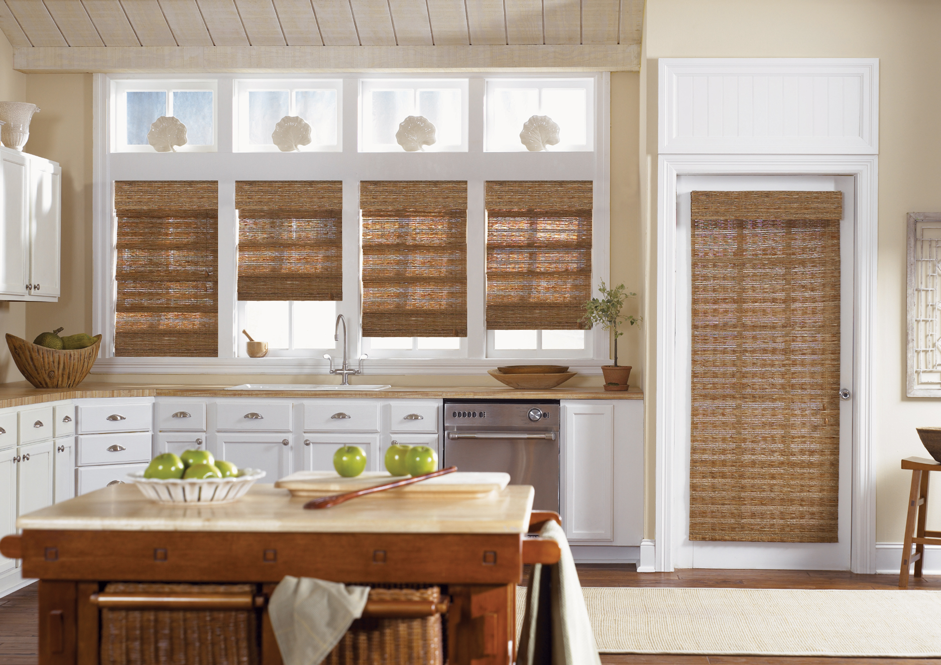 Luminos bamboo blinds