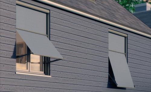 Luminos outdoor blinds system