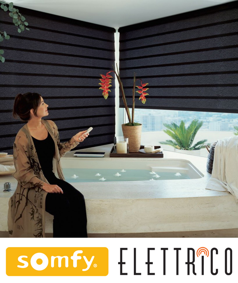 somfy elettrico motorised blinds